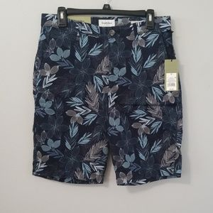 NWT Goodfellow Size 30 Flat Front Blue Shorts